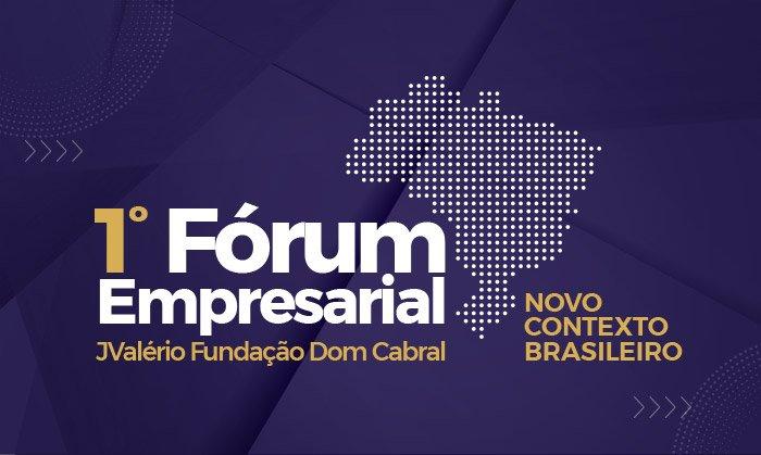 Divulgação do 1º Fórum Empresarial JValério