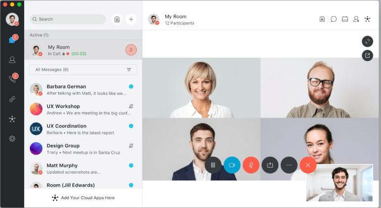 ferramenta para comunicação webex