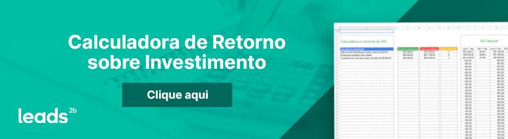 Use a calculadora de ROI para mostrar o retorno sobre o investimento quando estiver contornando objeções de orçamento