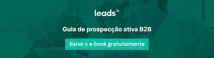 Use este e-book para aprender os princípios da prospecção ativa (outbound marketing)