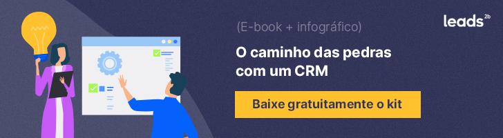 Use um CRM para preparar sua apresentação comercial. Descubra tudo sobre a ferramenta neste e-book